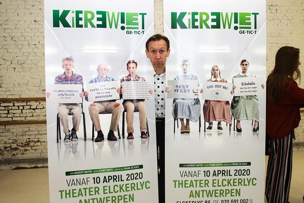 """Dirk Van Vooren over 'Kierewiet' : """"Een neurologische afwijking heeft iedereen in beperkte mate"""""""