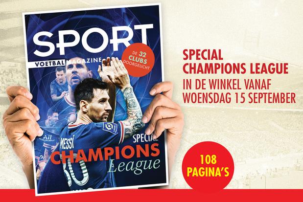 Special Champions League, vanaf woensdag in de winkel