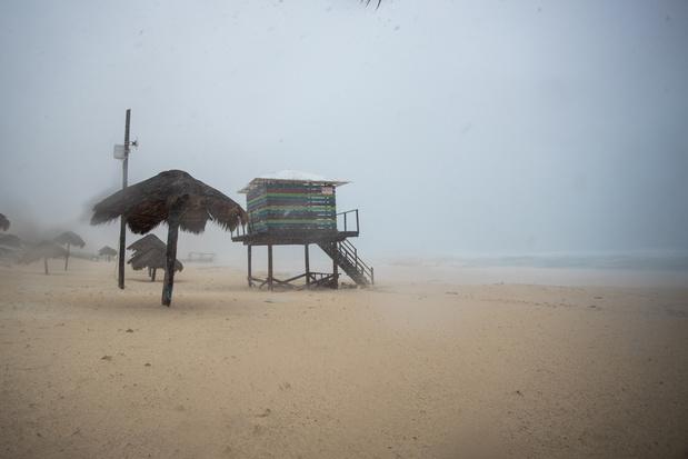 Storm Delta wordt orkaan en bedreigt Mexico en Verenigde Staten