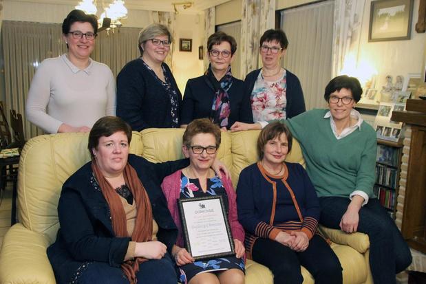 Christine Declercq al 40 jaar secretaris van Ferm Heestert