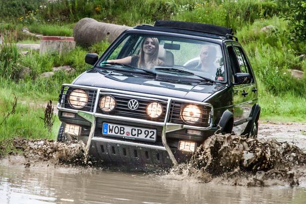 De eerste SUV van VW: de Golf Country uit 1990