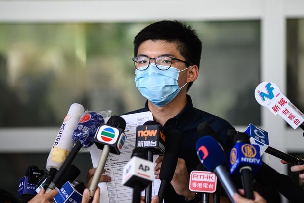 Hongkongse activist Wong belooft 'strijd niet te stoppen' na veroordeling