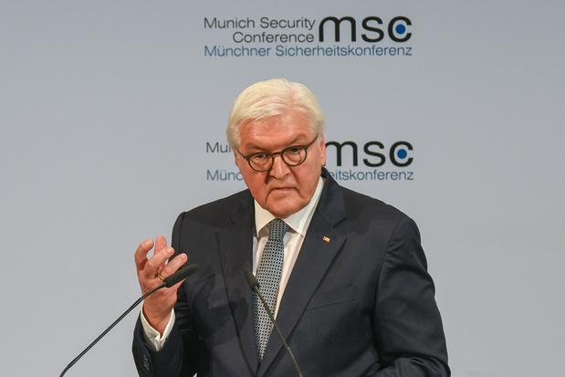 Duitse president waarschuwt voor 'concurrentie tussen grootmachten' op veiligheidsconferentie München