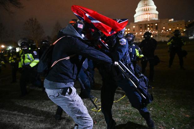 Vier doden na bestorming Capitool in Washington