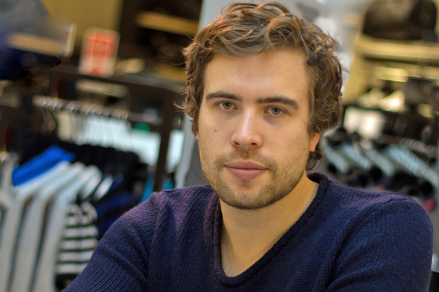 Amsterdam zonder toeristen: Bent Van Looy belt met schrijver Daan Heerma van Voss