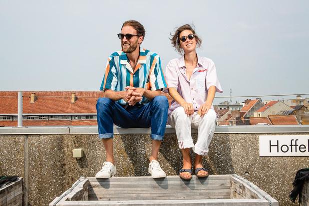 """Creatief duo Gus & Stella ruilt Londen in voor Oostende: """"Het is een ruwe bolster"""""""