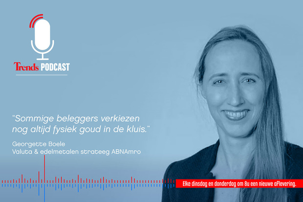 Trends Podcast met Georgette Boele: alles over beleggen in goud