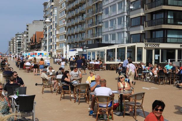 Horecazaken in Nieuwpoort breiden deze zomer hun terrassen uit