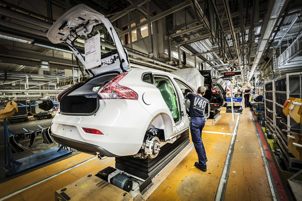 Komende twee weken amper anderhalve productiedag bij Volvo Gent door chiptekort