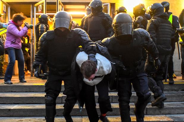 Bijna 1.800 aanhangers van Kremlincriticus Navalny opgepakt