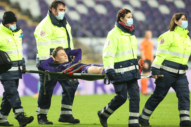 Yari Verschaeren komt dit jaar niet meer in actie bij RSC Anderlecht