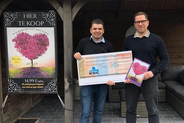 Zwevezeelse kalenders brengen 720 euro op voor Kom op tegen Kanker