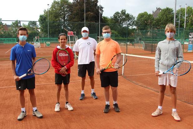 Jeugd- en enkel tennistornooi in 't Vrije in Brugge beleeft een recordeditie