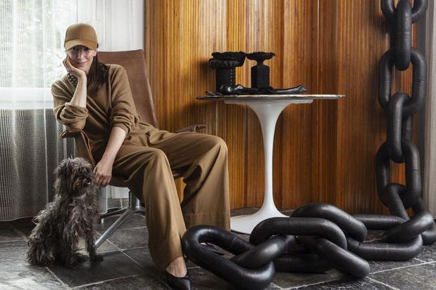 """Natalia Brilli, créatrice belge: """"Dans la mode, quand on a un certain âge, on est bon pour la casse"""""""