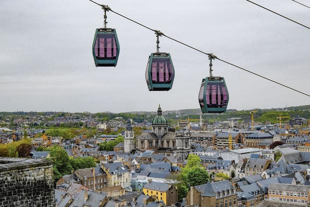 Namur prend de la hauteur
