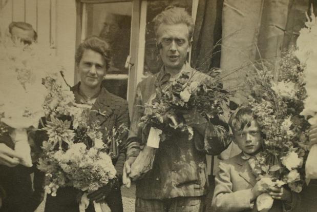 Herdenking voor meester Vandermeersch, die vandaag exact 75 jaar geleden terugkeerde uit Duits concentratiekamp