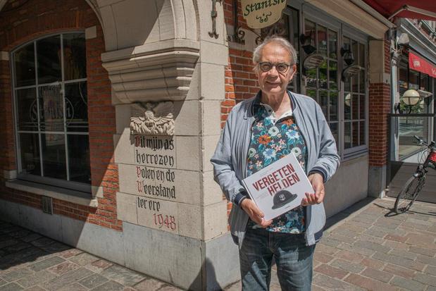 Ere-stadssecretaris Dirk Verbeke eert Poolse bevrijders