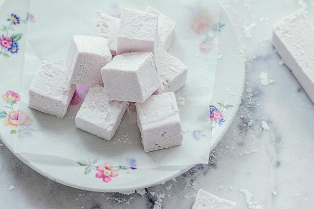 Marshmellows met fruit