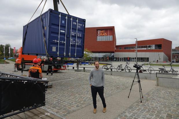 Coronaproof evenementenplein in Kortrijk nu al groot succes