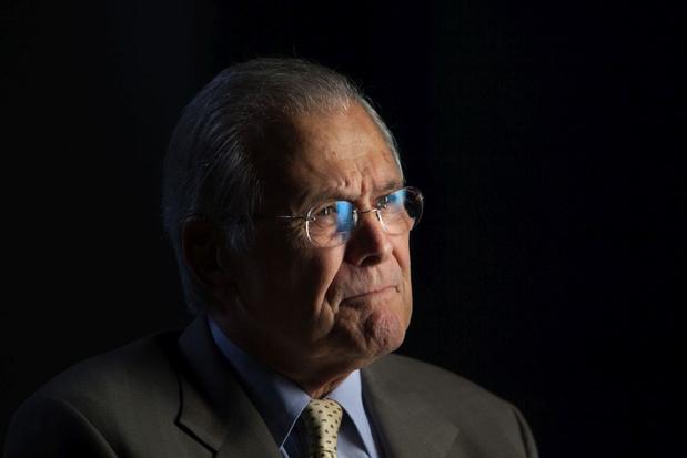 Voormalige Amerikaanse minister van Defensie Donald Rumsfeld overleden
