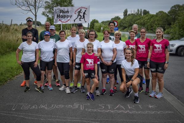 Ruben Van Gucht loopt mee met Lauwse loopverening Team Joost