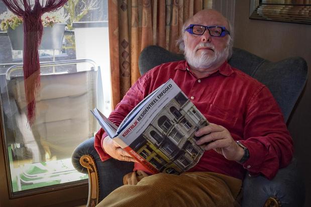 """Paul Delplancke laat je Kortrijkse pareltjes ontdekken: """"Elke dag bezig met dit levenswerk"""""""