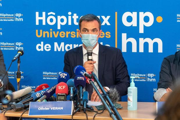 """France: le ministre de la Santé exclut un reconfinement """"préventif"""" avant Noël"""