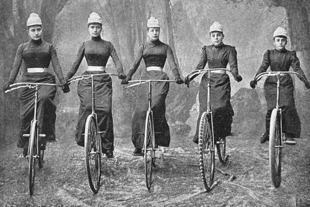'De rol van de fiets in de seksuele emancipatie van de vrouw wordt vaak over het hoofd gezien'