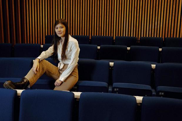 Lotus Li, student en lid van de Vlaamse Jeugdraad: 'Als ik om me heen kijk, ben ik bezorgd'