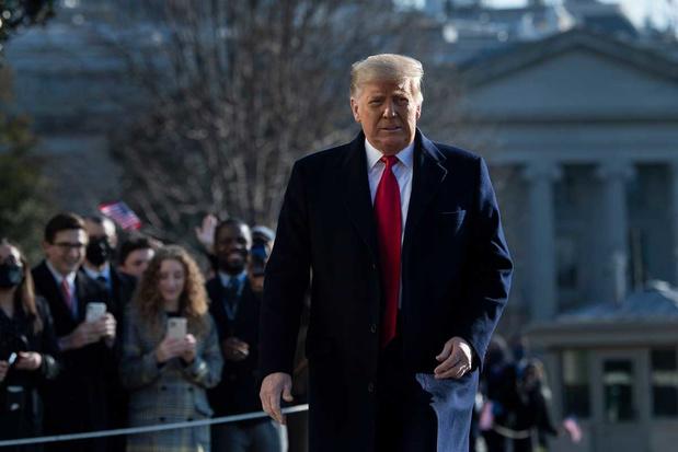 Trump: geen risico op afzetting via 25ste amendement