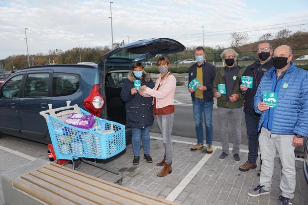 Groen voert actie tegen betalend parkeren in Bredene Duinen