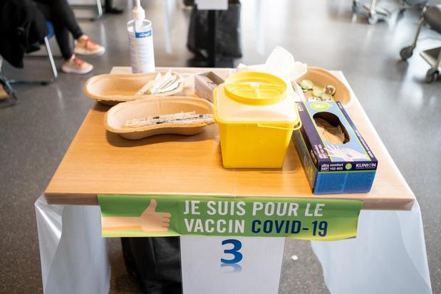 La Belgique 4e en Europe pour la seconde dose