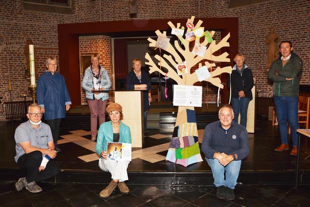 Wensboom zorgt voor verbondenheid in Roeselare