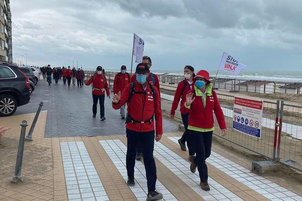 Ivo en Wouter wandelen 308.000 euro bijeen tijdens Stop Parkinson Walk