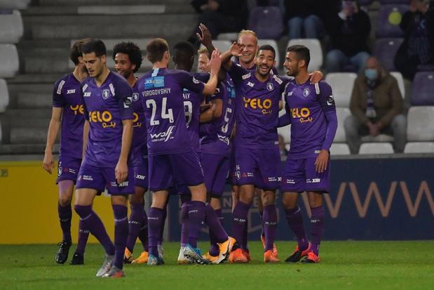 Beerschot wint in doelpuntenkermis van STVV, KV Mechelen met tien ten onder tegen Kortrijk