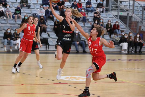 Basket Namur Capitale pas na de rust voorbij Kortrijk Spurs