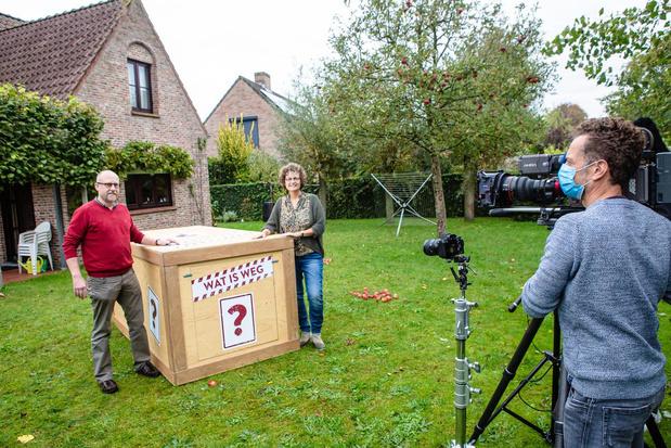 Tv-programma Iedereen Beroemd filmt bij Brugs gemeenteraadslid Karin Robert