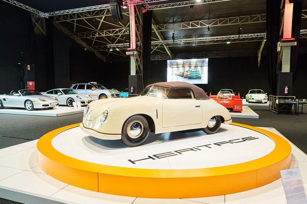 70 ans de Porsche 356 à Autoworld