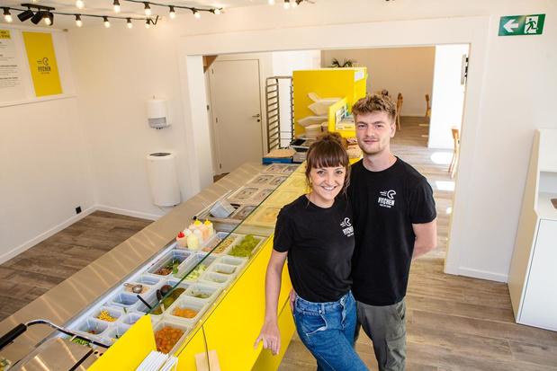 Eerste West-Vlaamse vestiging van gezonde fastfoodketen Fitchen opent in Brugge