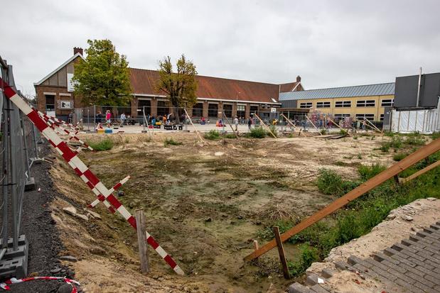 Bouwwerken aan basisschool Het Beverbos lopen vertraging op na overlijden aannemer