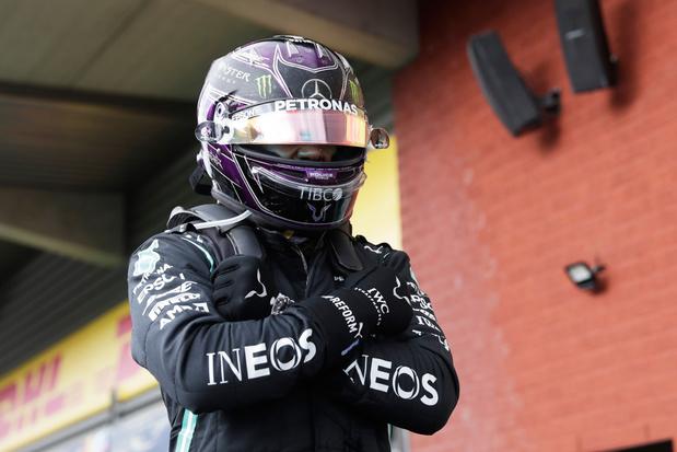 Hamilton verovert Spa-Francorchamps