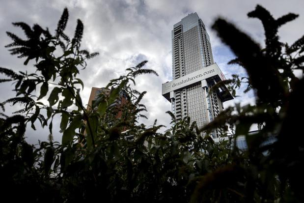 Woontoren in Rotterdam bereikt 215 meter, hoogste complex in Benelux