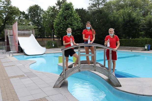 """Nog geen volk bij opening openluchtzwembad Hernieuwenburg: """"Komende dagen wel reservaties"""""""