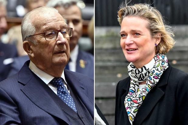 Koning Albert II geeft toe dat hij de  biologische vader is van Delphine Boël