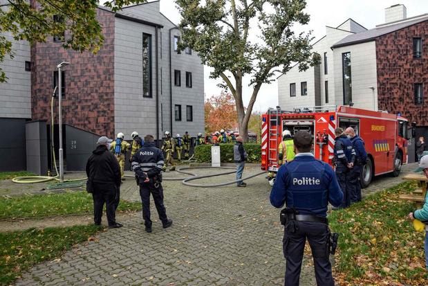 Appartement onbewoonbaar na brand op Wallaysplein in Wevelgem