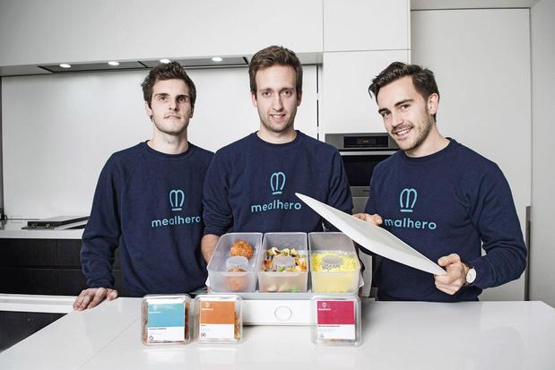 Vlaams maaltijdenbedrijf Mealhero haalt 2,5 miljoen euro op