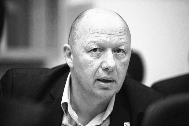 Hans Bonte, burgemeester van Vilvoorde. De stad trekt naar de rechtbank tegen Broeklin