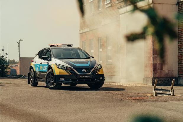 Nissan Re-Leaf: de l'énergie au service des secours