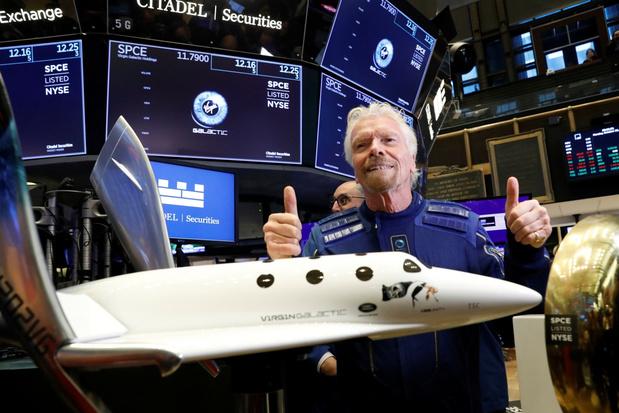 Virgin-stichter Richard Branson wil op 11 juli de ruimte in