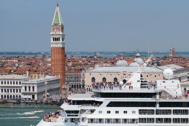 Grote cruiseschepen voortaan niet meer welkom bij het historische centrum van Venetië